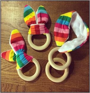 Queen Bee Naturals Teething Ring
