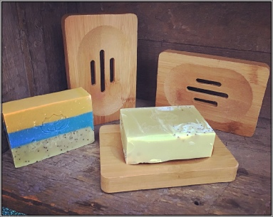 Queen Bee Naturals Soap Dish