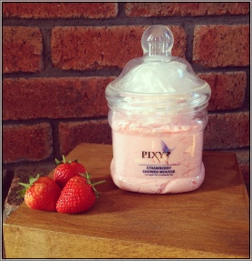Strawberry Shower Mousse